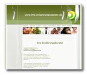 Website des Vereins Ihre-Ernährungsberater e.V.